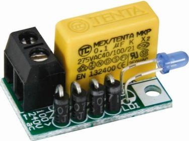 Velleman - MK181 - Netspændings LED indikator (100-240VAC)