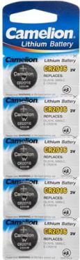 Camelion - Camelion - CR2016 Lithium knapcelle, 3V / 85mAh (5 stk.)