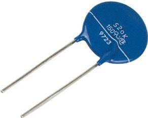 Varistor (VDR) - 60VAC/85VDC, 100V (10mm) Type 20D101