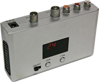 Universal audio/video RF modulator (RF 3000)