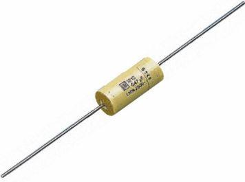 MKT kondensator - 2,2uF 250V aksial 31,5mm (1 stk.)