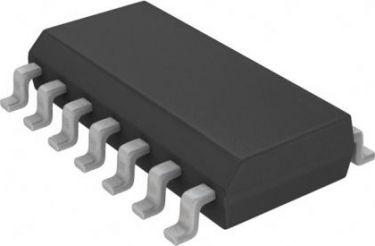 74HCT02 IC - Quad 2-input NOR-gate (SO14)