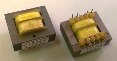 230V printtransformator - 3VA 2 x 15V / 2 x 100mA