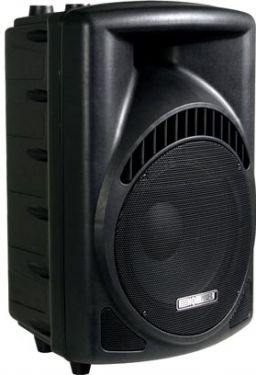 """HQ Power - Prof. 2-vejs 12"""" ABS højttaler (200Wrms)"""
