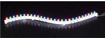 Velleman - Flex LED strip - Grøn, 18 LEDs, 30cm, 12Vdc