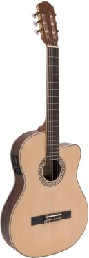 Dimavery TB-100 Classical guitar, nature