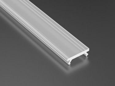 Lumines Lightning - Cover til alu. LED profil - Diffus (2,02m) 12mm
