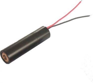 Lasermodul - 3V, 5mW, Grøn prik (m. ledning)