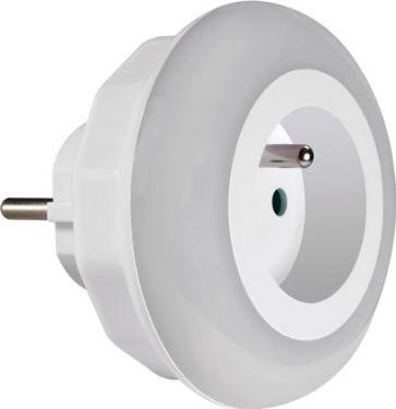 PEREL - LED natlampe med 1 x PinEarth udtag