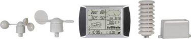 Velleman - Prof. vejrstation m. touch-skærm og PC interface