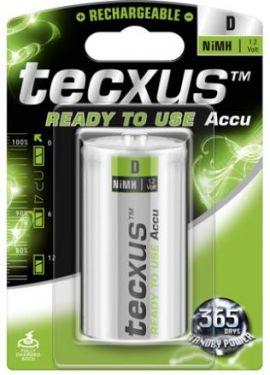 Tecxus - Tecxus - NiMH D/HR20 batteri 8500mAh, ReadyToUse (1 stk.)