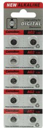 Camelion - Camelion - LR726/AG2/V396 Alkaline 1,5V / 25mAh (10 stk.)
