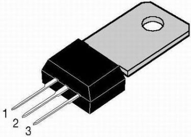 BD413 SI-PNP Darlington transistor - 50V / 2A / 10W (TO202)