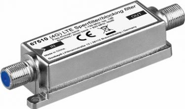GOOBAY - LTE (4G) low pass antennefilter - 5-790 Mhz