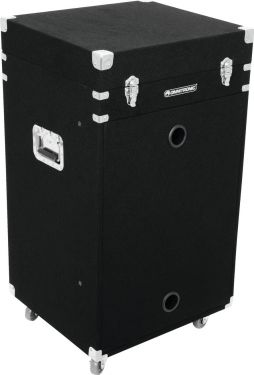 Roadinger Combo Case 16U Carpet black with wheels