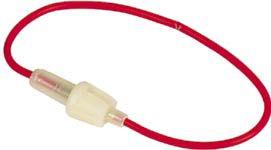 IN-LINE sikringsholder - Bajonettype, 5 x 20mm (maks 5A)