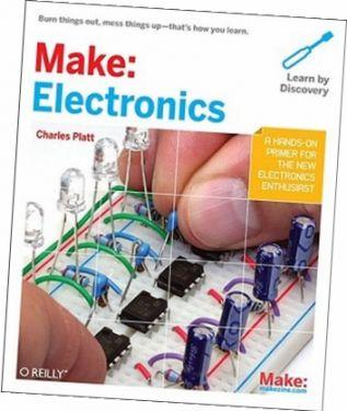 Make: Electronics, af Charles Platt, 334 sider (Engelsk)