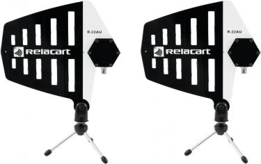 Relacart R-22AU Wide-band directional active Antenna 2x