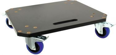 Roadinger Wheel Board MDF 4 wheels 2 brakes