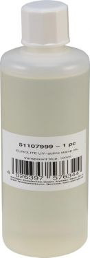 Eurolite UV-active Stamp Ink, transparent blue, 100ml