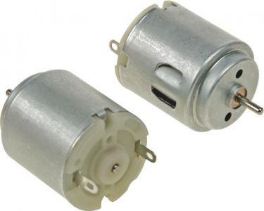 Mini DC motor - 1,5-3Vdc / 300mA 14200rpm