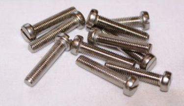 Ligekærv skruer - M2 x 20mm (10 stk.)