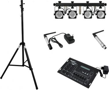 Eurolite Set LED KLS-50 + transmitter + receiver + DMX LED Opera