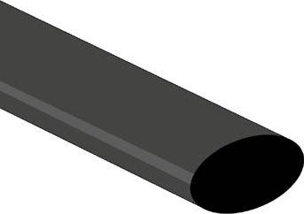 Velleman - Krympeflex 2:1 - 19,0mm SORT (50 meter)