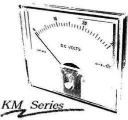 KM-66 DC strøm panelmeter - 1A