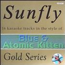 Sunfly Gold 38 - Blue And Atomic Kitten