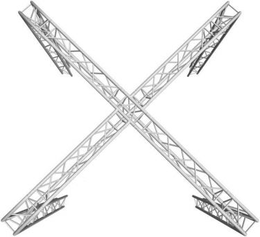 Alutruss Truss set TRILOCK 6082 X stand 6.71x6.71x3m (WxDxH)