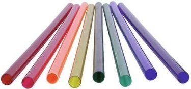 Eurolite - Farvefilter til T8 lysstofrør - Ø26,5 x 1190mm, GUL