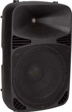 "HQ Power - FluidE 12 - Aktiv højttaler, MP3 via USB, 12"", 200W"