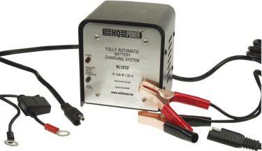 HQ Power - Blybatterilader 12V / 1,25A