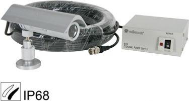 S/H projektilkamera - 420 TV linjer, 92° linse (IP68)