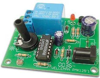 Velleman - MK125 - Lysfølsom kontakt (skumringsrelæ)