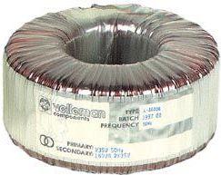Velleman - Ringkernetrafo - 160VA 2 x 24V / 2 x 3,33A