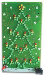 Velleman - MK117 - Deluxe blinkende juletræ
