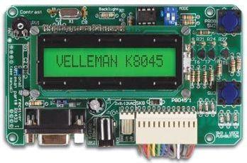 Velleman - K8045 - Programerbar LCD lystavle m. RS232 interface