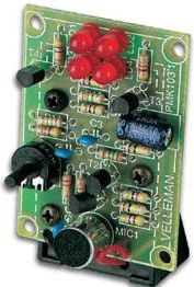Velleman - MK103 - Mini lysshow m. 4 LED (musikstyret)