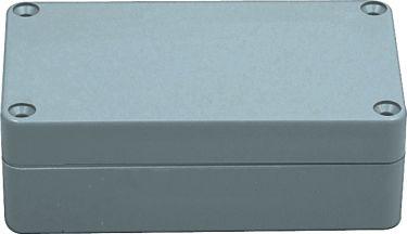 G304 plastkabinet - Grå, IP65 (115x65x40mm)