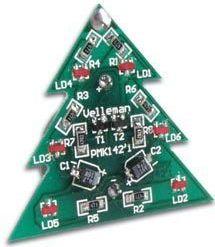 Velleman - MK142 - SMD miniature juletræ