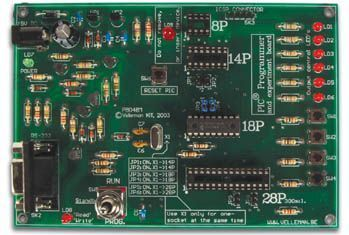Velleman - K8048 - PIC program- og eksperimentkort (m. software)