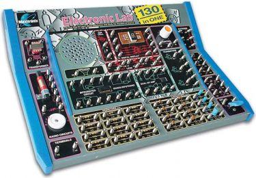 Elektronik LAB kit m. 130 elektronikprojekter