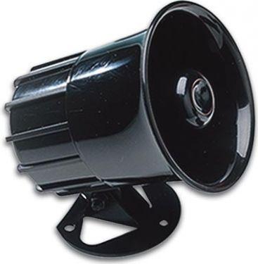 Elektronisk sirene - 6-12Vdc / 1300mA, 125dB, ledning