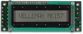 Velleman - MK157 - LCD mini messageboard