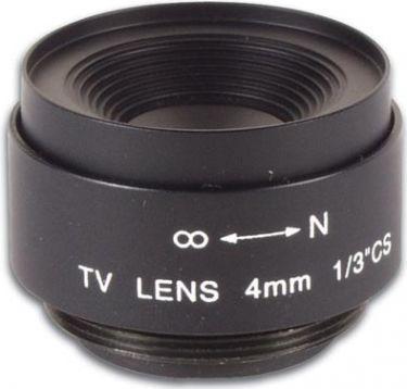 CCD vidvinkellinse - F2,0 / 4mm, 80°