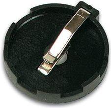 Batteriholder til knapcelle - Ø24mm (CR2425/2430) for print