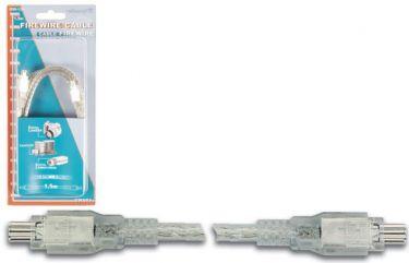 Velleman - Firewire kabel - 4 pol til 4 pol, IEEE-1394, Velleman (1,5m)