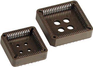 PLCC sokkel - 68P ledningsfri chipholder, non-staggered